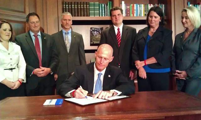 Gov Rick Scott - Florida - pro-life - state legislature