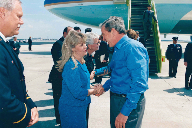President George W. Bush - Air Force One - Pam Olsen - Florida