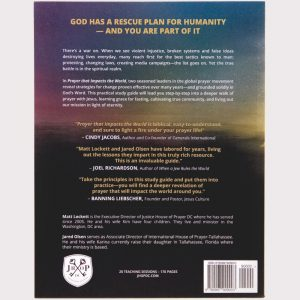 Prayer that Impacts the World Back Cover