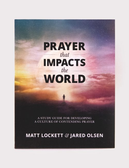 Prayer that Impacts the World Front Cover