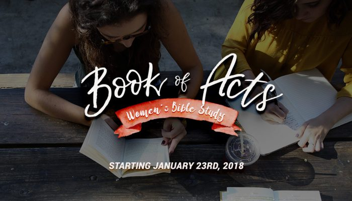 Book of Acts Women's Bible Study