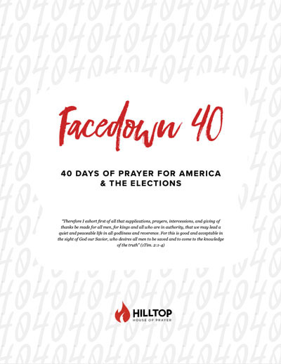 Facedown40 - Free prayer guide for America